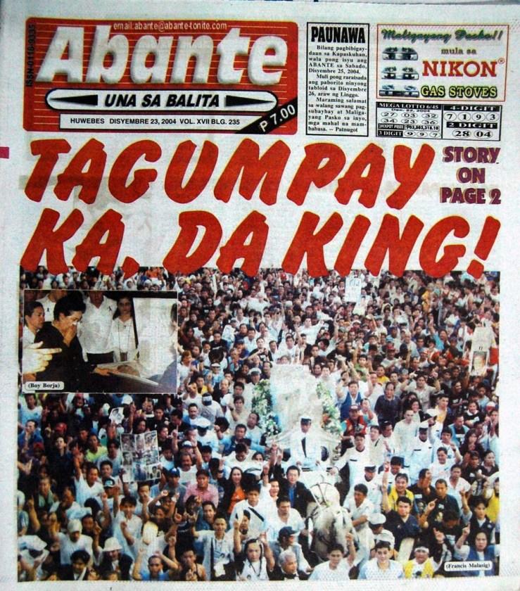 Abante Balita Ngayon - Philippine Tabloid & Broadsheet ...
